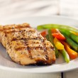 Grilled salmon — Stock Photo #33580561