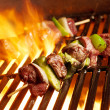 Stock Photo: Beef shishkababs