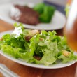Green leafy salad — Stock Photo