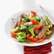 Asian beef — Stock Photo