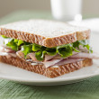 Deli meat sandwich — Stock Photo