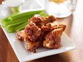 Bbq buffalo wings — Stockfoto