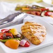 Grilled barbecue chicken — Stock Photo #33602053
