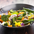 Vegetarian wok stir fry — Stock Photo #33605055