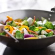 Vegetarian wok stir fry — Stock Photo #33605149
