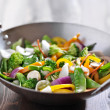 Vegetarian wok stir fry — Stock Photo #33605567