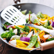 Vegetarian wok stiry fry — Stock Photo