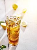 Cold iced tea — Stock Photo