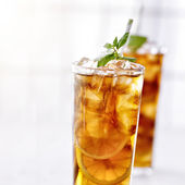 Cold iced tea — Stock fotografie