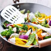 Vegetarian wok stiry fry — Foto de Stock