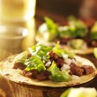 Authentic mexictacos with beef — Stok Fotoğraf #39597527
