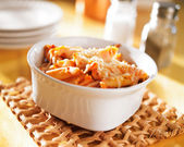 Baked penne — Stock Photo