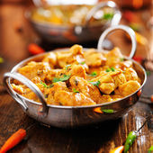 Indian chicken curry — Stock Photo