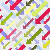 Arrow, direction 3D graphics — Stock Vector