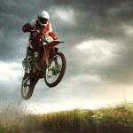 Moto cross — Stock Photo