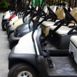 Golf carts — Stock Photo #32752637