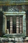 Ancient window castle — Стоковое фото