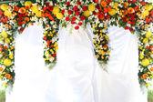 Exotic flowers arrangement — Stock Photo