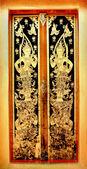 Detail of temple's door — Fotografia Stock