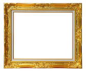 Gold louise frame — Stock Photo