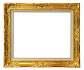Oro telaio louise — Foto Stock