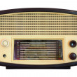 Vintage radio isolated — Stock Photo #33135713