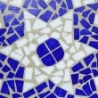 Blue color mosaic — Foto de Stock