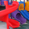Colorful playground for children — Stock Photo