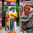 Stock Photo: Colorful totem