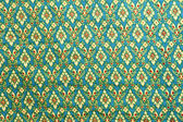 Traditional Thai style native fabric weave — Stockfoto