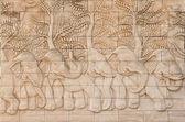 Thai art elephant statue — Stock Photo