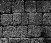 Laterite wall background — Stock Photo