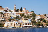 Greece. On the island of Symi. — Stock Photo