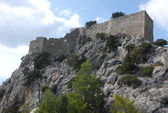 Greece. Island of Rhodes.Castle of Monolithos — Stock Photo