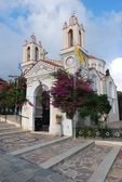 Greece. Island of Rhodes.The Church of St. Panteleimon — Stock Photo