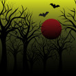 Halloween background — Stockvektor #12438365