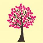 Abstract tree oak tree — Stock Vector #13164703