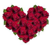 Flor de coração — Vetor de Stock