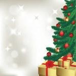 Christmas tree — Stock Vector