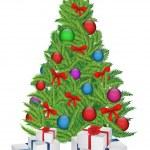 Christmas tree — Stock Vector #14650183