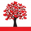 Abstract heart tree — Stockvector #18481513