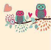 Cute card — 图库矢量图片