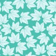 Seamless maple pattern — Stock vektor