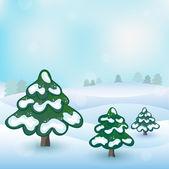 Vector de invierno — Vector de stock