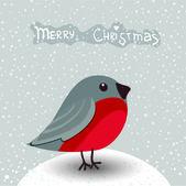 Christmas card in vector — Stock Vector