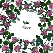 Vector floral card — Stock Vector
