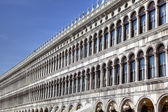 Procuratie Vecchie on Piazza San Marco (St Mark's Square) in Venice, Italy — Stock Photo