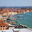 Venice View from campanille at SMarco place in Venice, Italy — стоковое фото #13208209