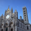 The Duomo (cathedral) of Siena. Tuscany, Italy. - Stockfoto