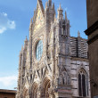 The Duomo (cathedral) of Siena. Tuscany, Italy. - 图库照片